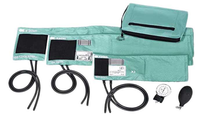 Prestige-Medical - 882-COM-AQS 3-in-1 Aneroid-Sphygmomanometer