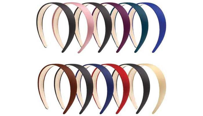 Elcoho-Anti-slip-Satin-Headbands