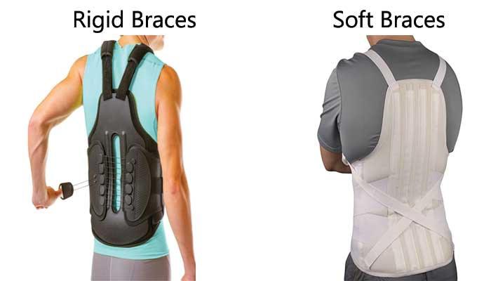 How many types of back brace?