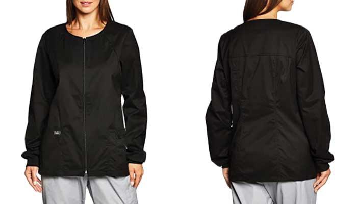Cherokee-Womens-Workwear-Core-Stretch-Warm-Up-Jackets