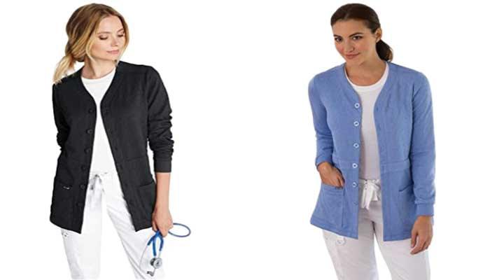Scrub-Sweater-For-Professional-Women-Nurses